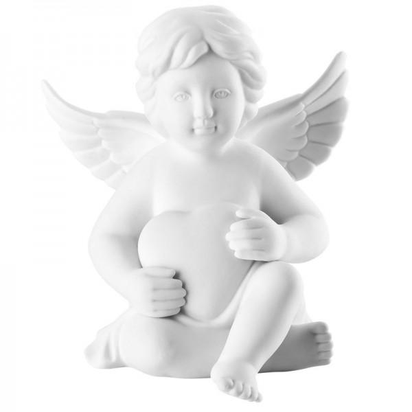 angelo con cuore 14,5 cm