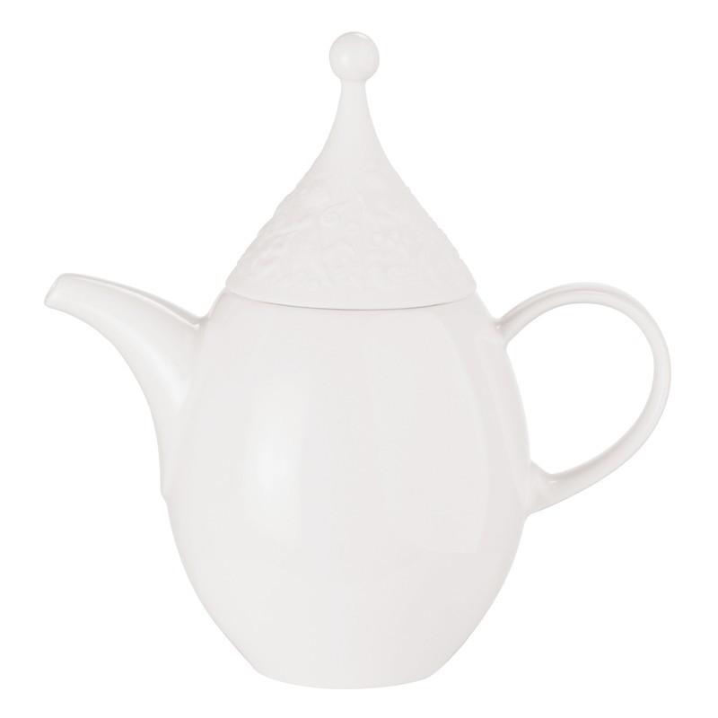 Bomboniera miniatura teiera flauto magico porcellana