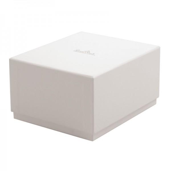 Bomboniera miniatura vaso bianco 8cm plissee