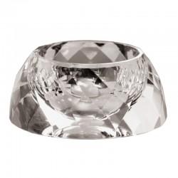 Bomboniera portauovo in cristallo  5,5 cm