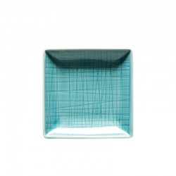 coppa quadrata verde acqua 10cm mesh