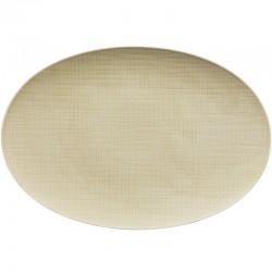 piatto crema 38cm mesh