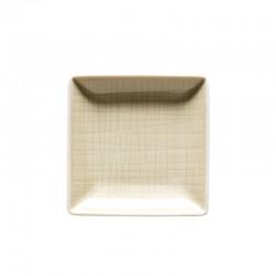 coppa quadrata crema 10cm mesh