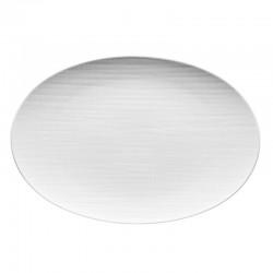 piatto ovale 34cm mesh