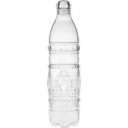 bottiglia baroque e rock trasparente