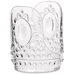 Bomboniera supporto bicchieri carta trasparente