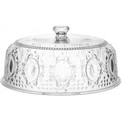 piatto torta con cupola diametro 32 cm trasparente