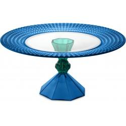 alzata dulcis in fundo 28 cm blue