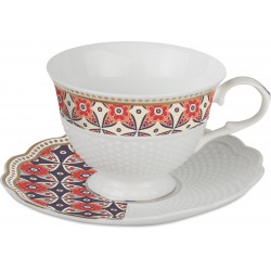 set 2 tazzine tea dots