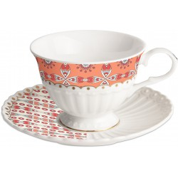 set 2 tazzine tea lines