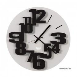 orologio big perseo nero goffrato