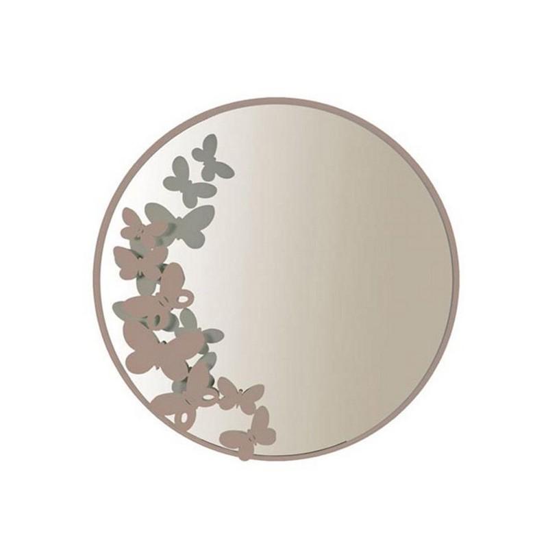 Specchio butterfly beige arti e mestieri domustore luxury store - Specchio arti e mestieri ...