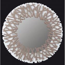 specchio twisted nocciola