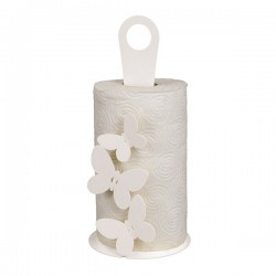 porta scottex farfalle bianco