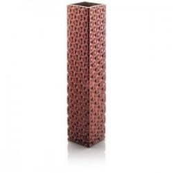vaso bronzo specchiato cm 40