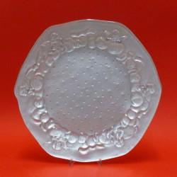 piatto panettone argentato cm 37