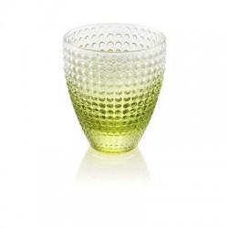 sei bicchieri acqua verde sweet