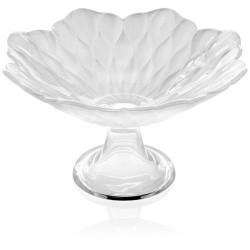 loto alzata con boletto cm 25 decoro bianco perla