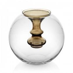 oasi vaso sfera con vasetto decoro verde muschio