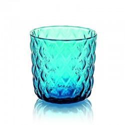 net set 6 pezzi bicchiere liquore azzurro cl8