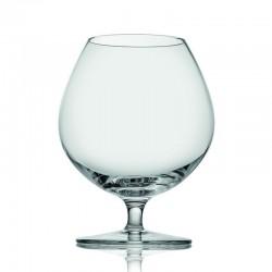 tasting hour set 2 pezzi calice cognac trasparente cl
