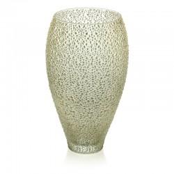 special vaso altezza 30 cm decoro oro