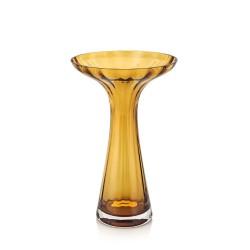 cage vaso incamiciato ambra ottico