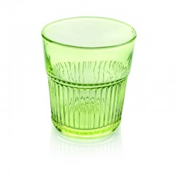 industrial chic set 6 pezzi bicchiere acqua verde aci