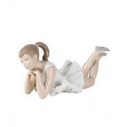 statuina ballerina pensosa