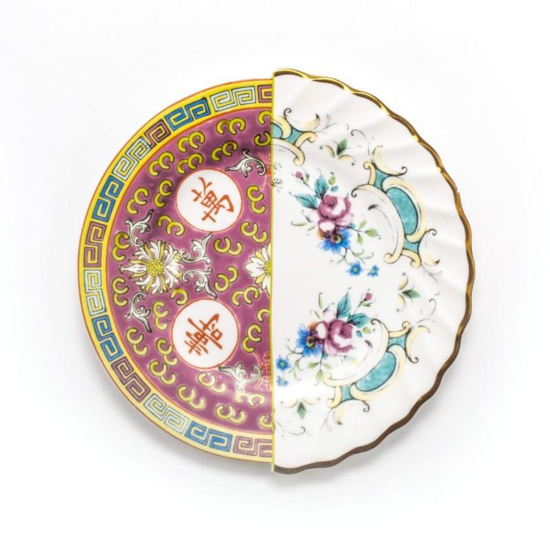 piatto da frutta in porcellana eudossia hybrid