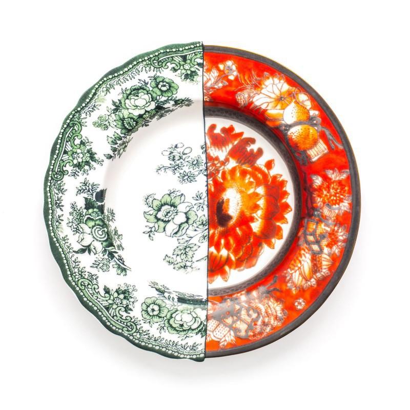 piatto fondo in porcellana hybrid cecilia