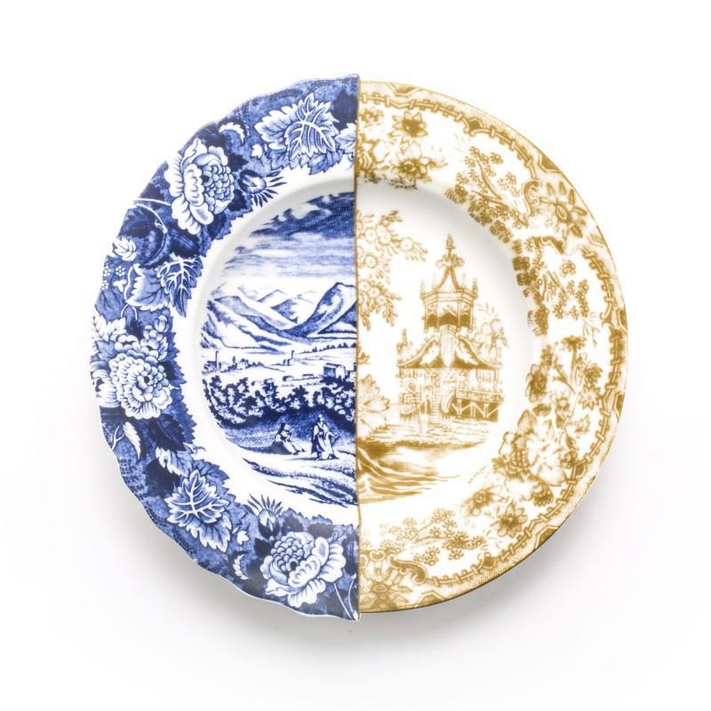 piatto fondo in porcellana hybrid sofronia