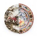 piatto piano in porcellana hybrid eusapia