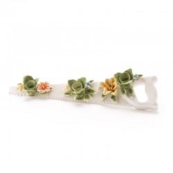 portacandela con fiori flower attitude sega