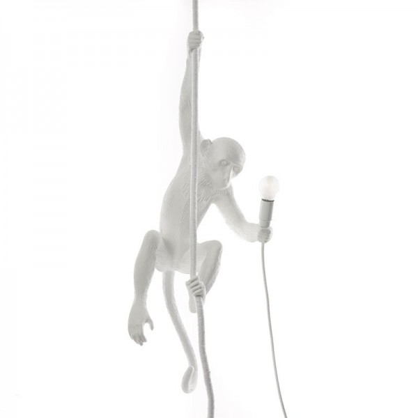 lampadario scimmia monkey lamp