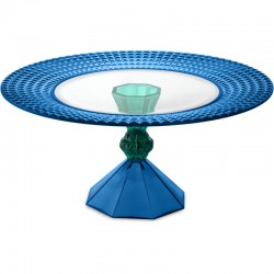 alzata dulcis in fundo 23 cm blue