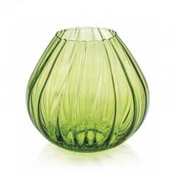 vaso nuvola verde acido 21.5cm