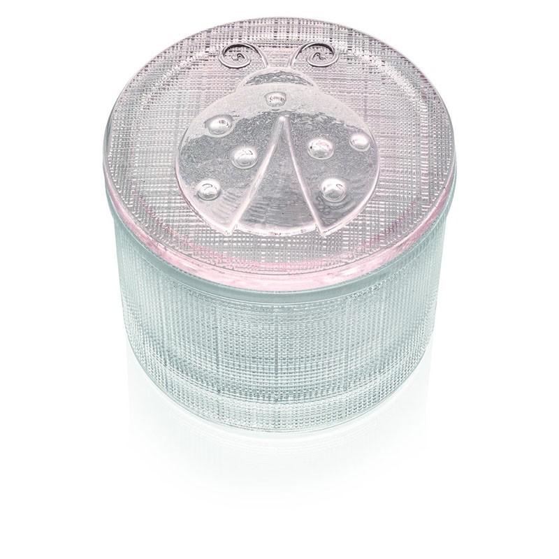 Bomboniera segreti scatolina trasparente con coperchio coccin