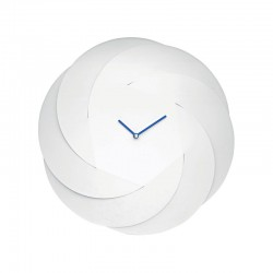 infinity clock,orologio bianco