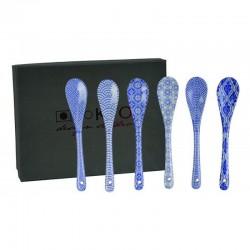nippon blue set 6 cucchiaini 11.5cm