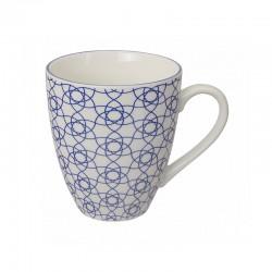 nippon blue mug 300 ml 8.7x9.8cm stripe