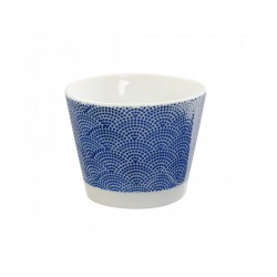 nippon blue tazze 8.5x6.8cm dot