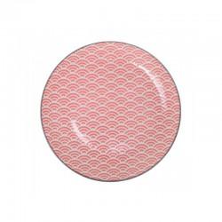 star wave piatto 20.6x2.2cm rosso