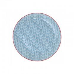star wave piatto 20.6x2.2cm grigio