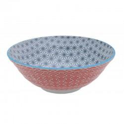 star wave ciotola noodle 21x7.8cm grigio rosso