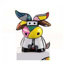 figurina mini mucca