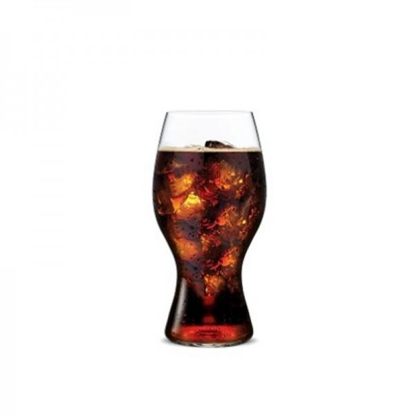 bicchiere cocacola nel tubo