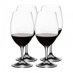 set 4 calici vino rosso riedel