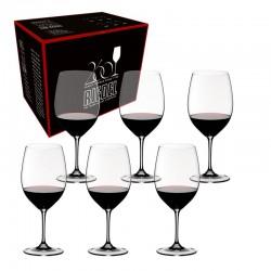 set vinum cabernet merlot 6 pz