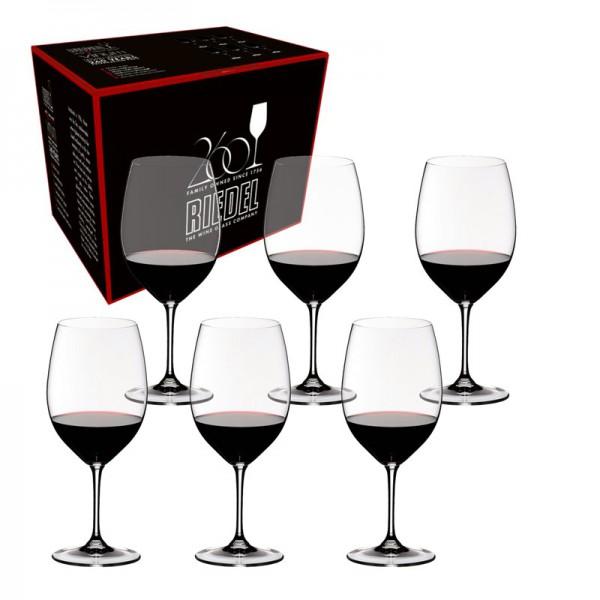 set vinum cabernet/merlot 6 pz